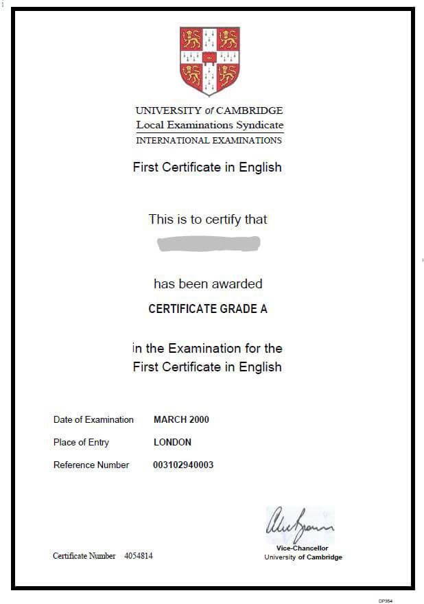 Fce First Certificate Kurse übungen Videos Bücher Tipps
